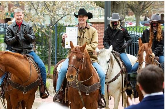 Governor proclaims Rodeo Week