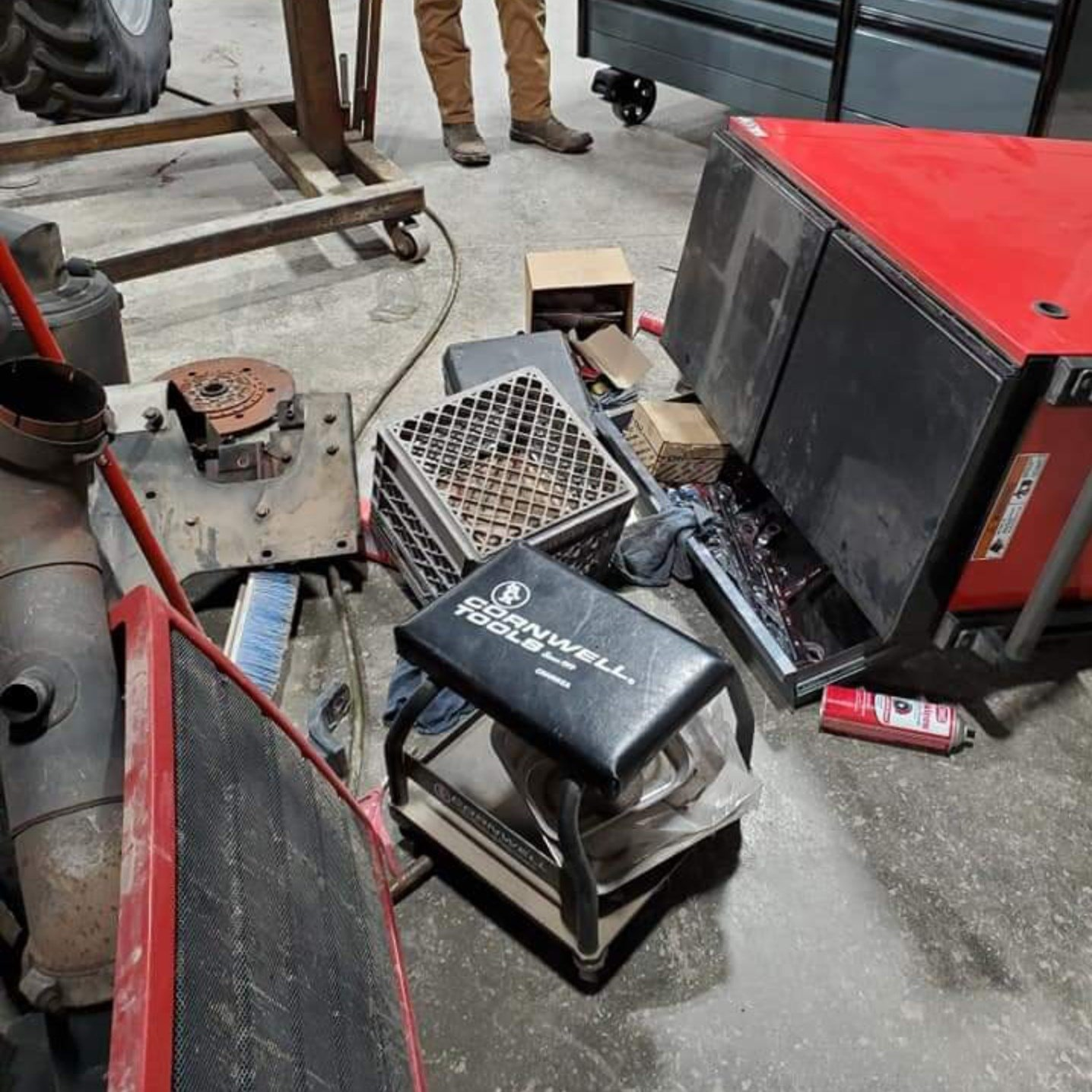 Tools stolen from farm equipment center
