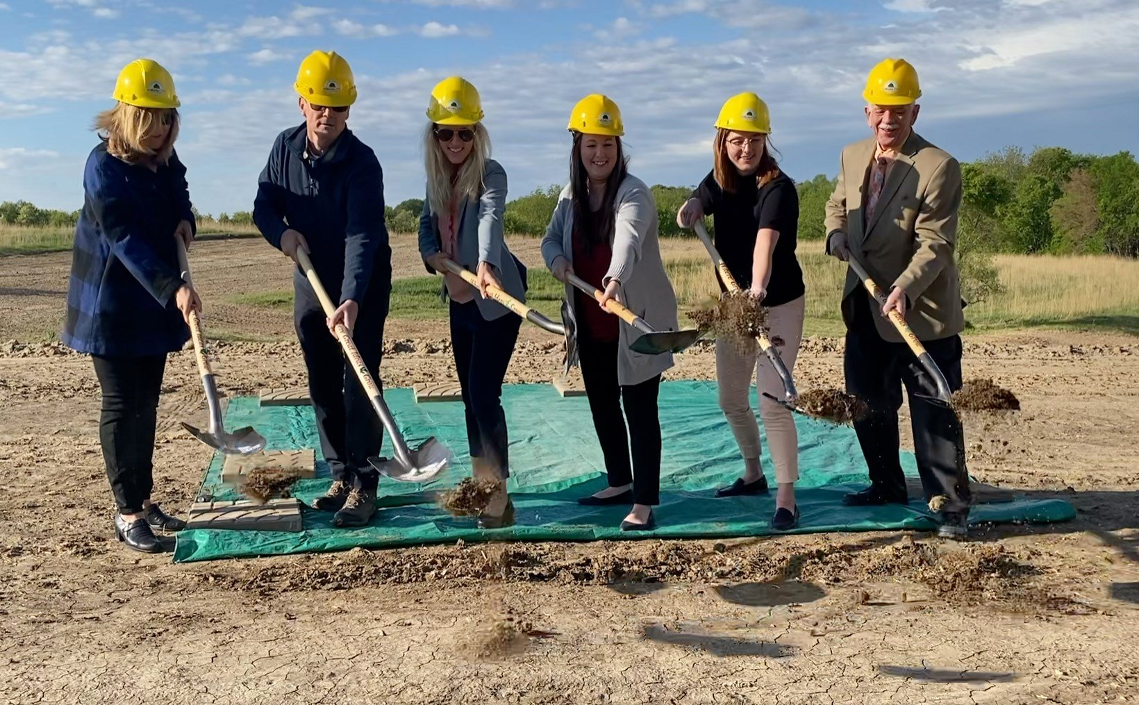 Nebraska City breaks ground on flood recovery houses