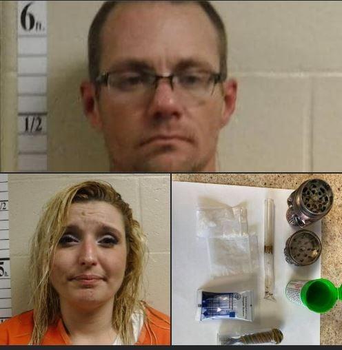 Sunday drug arrest reported