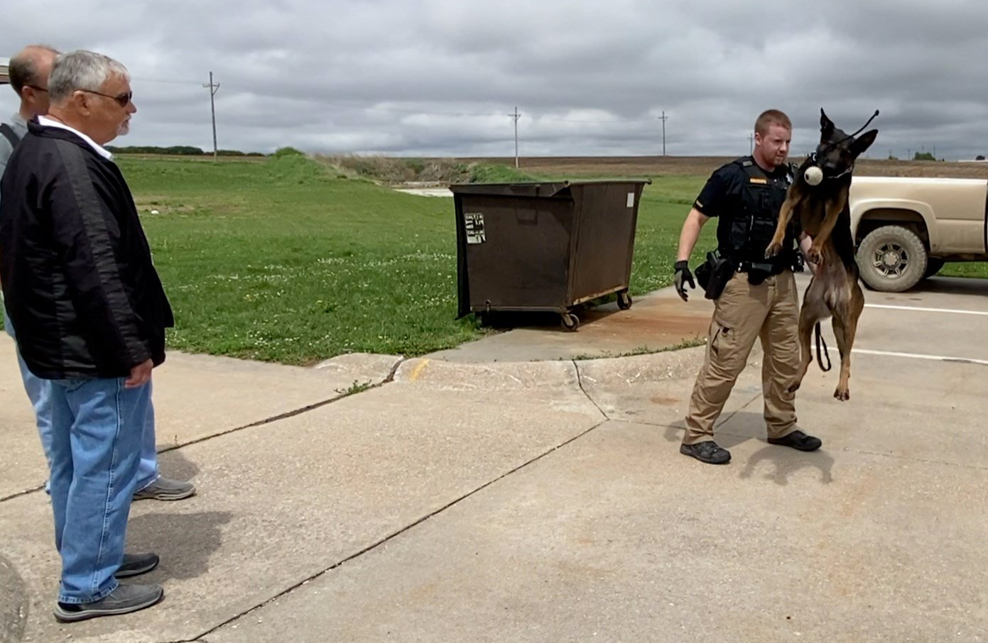 Narcotics enforcement boosted by  'world class' K9 in Richardson County