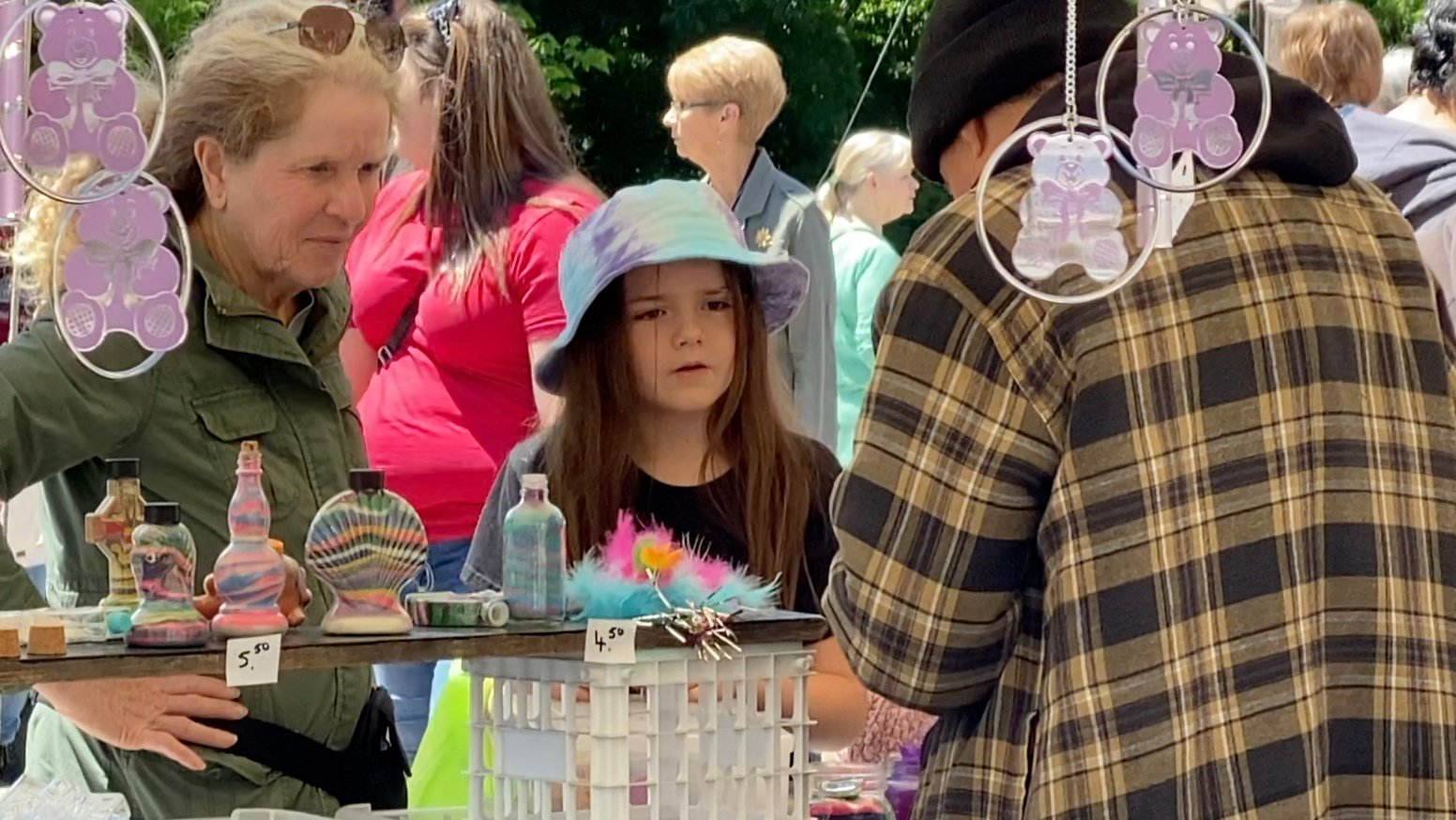 Historical Society on mission at Brownville Flea Market