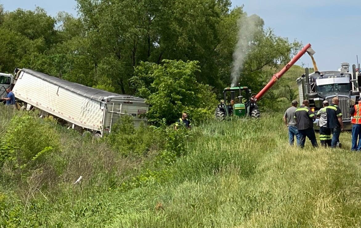 Drivers escape injury near Nebraska City