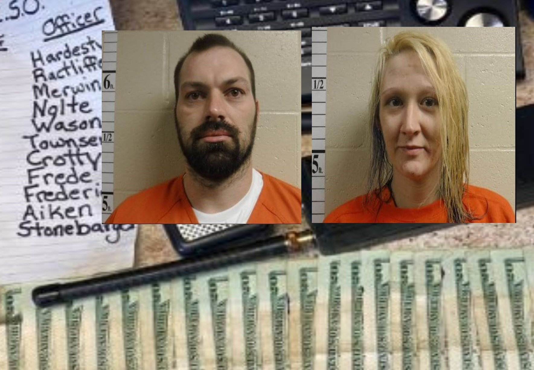 Search of Falls City apartment yields about 54 grams of meth