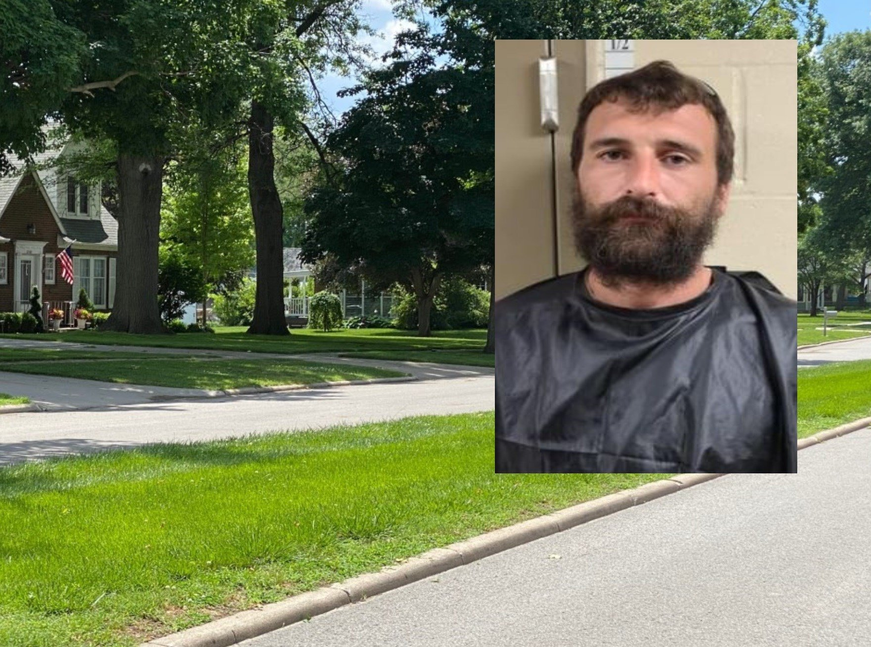 Falls City man accused of trying to run over ex-wife
