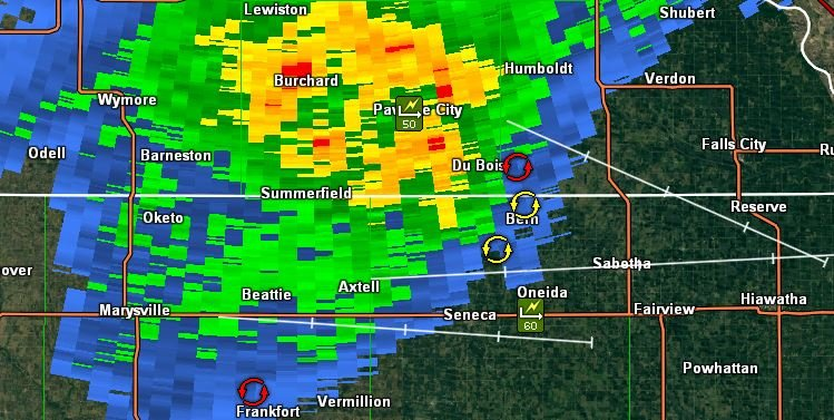 Hail, damaging winds reported in storm