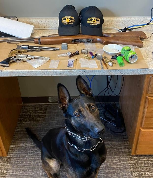 Three arrested after Salem search