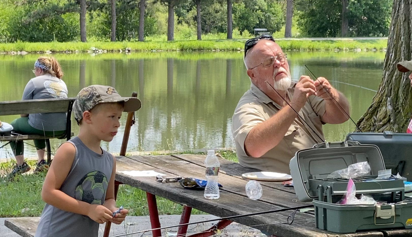 Experience is the biggest catch  at Auburn's Fishing is Fun Clinic