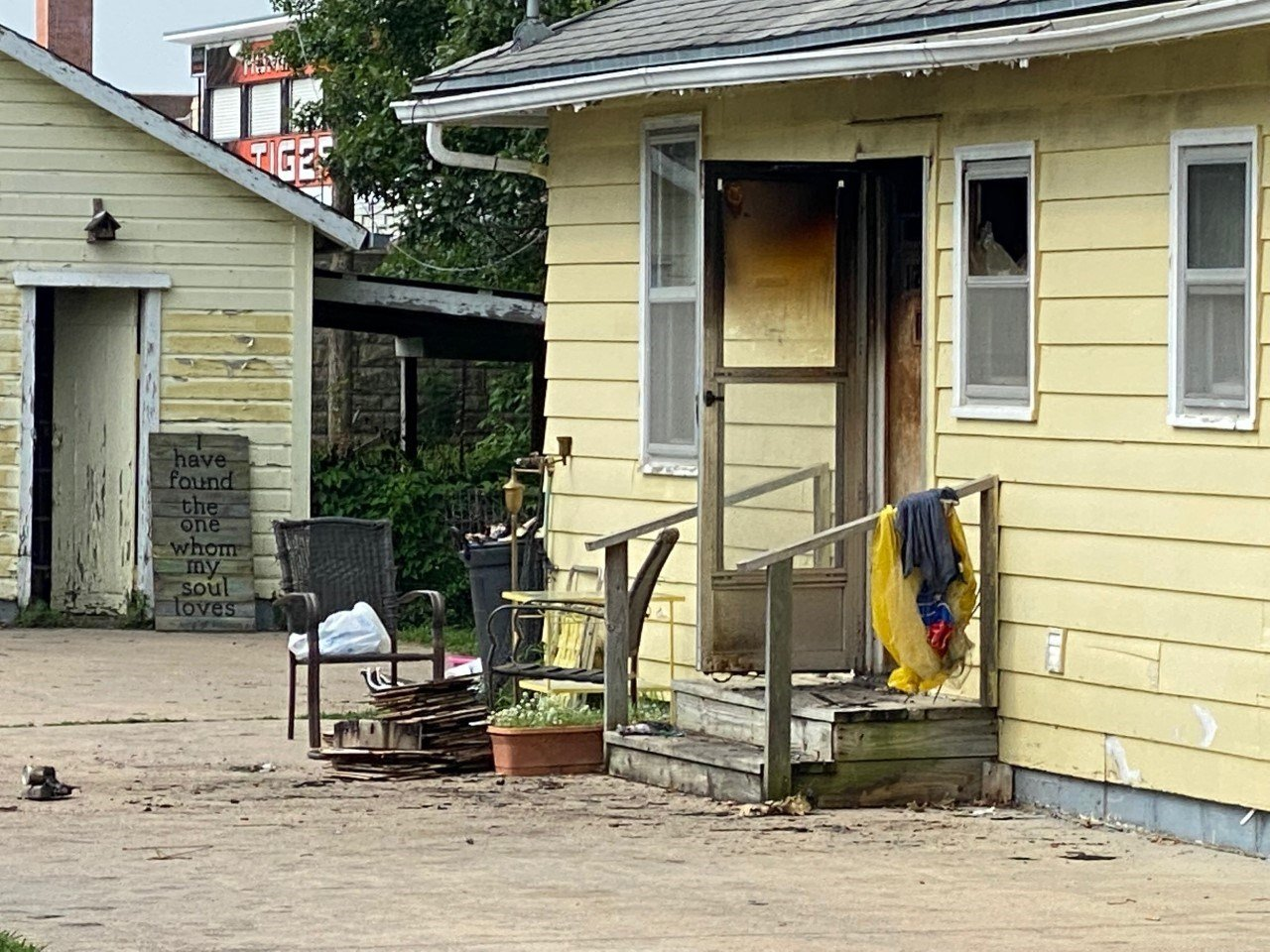 Significant damage in Falls City house fire