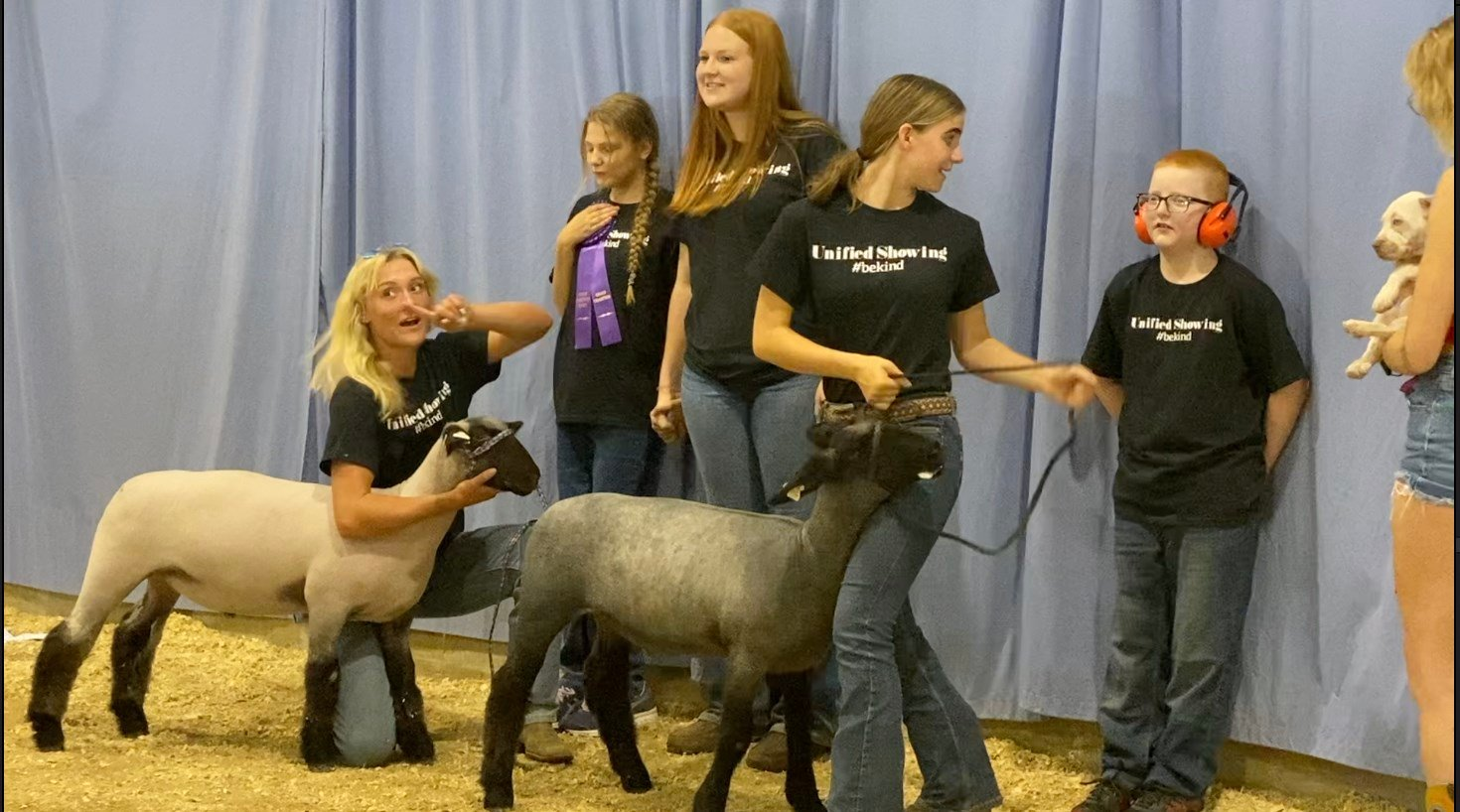 Unified showmanship touches emotions at Otoe County Fair's sheep show