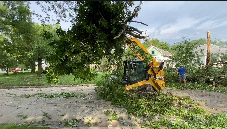 Governor declares disaster after severe windstorm in July