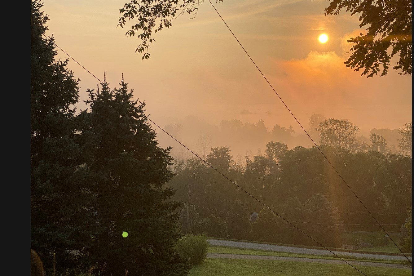 Air quality advisory through Wednesday for most of state