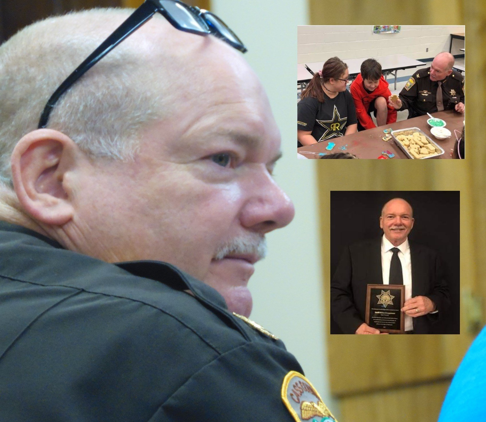 Hall of Fame sheriff does not plan to seek re-election