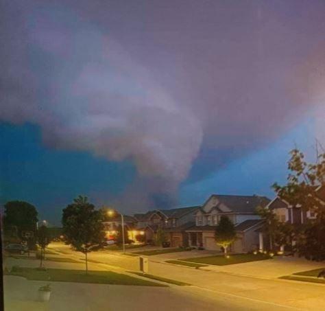 Damaging storm prompts talk of Dunbar tornado
