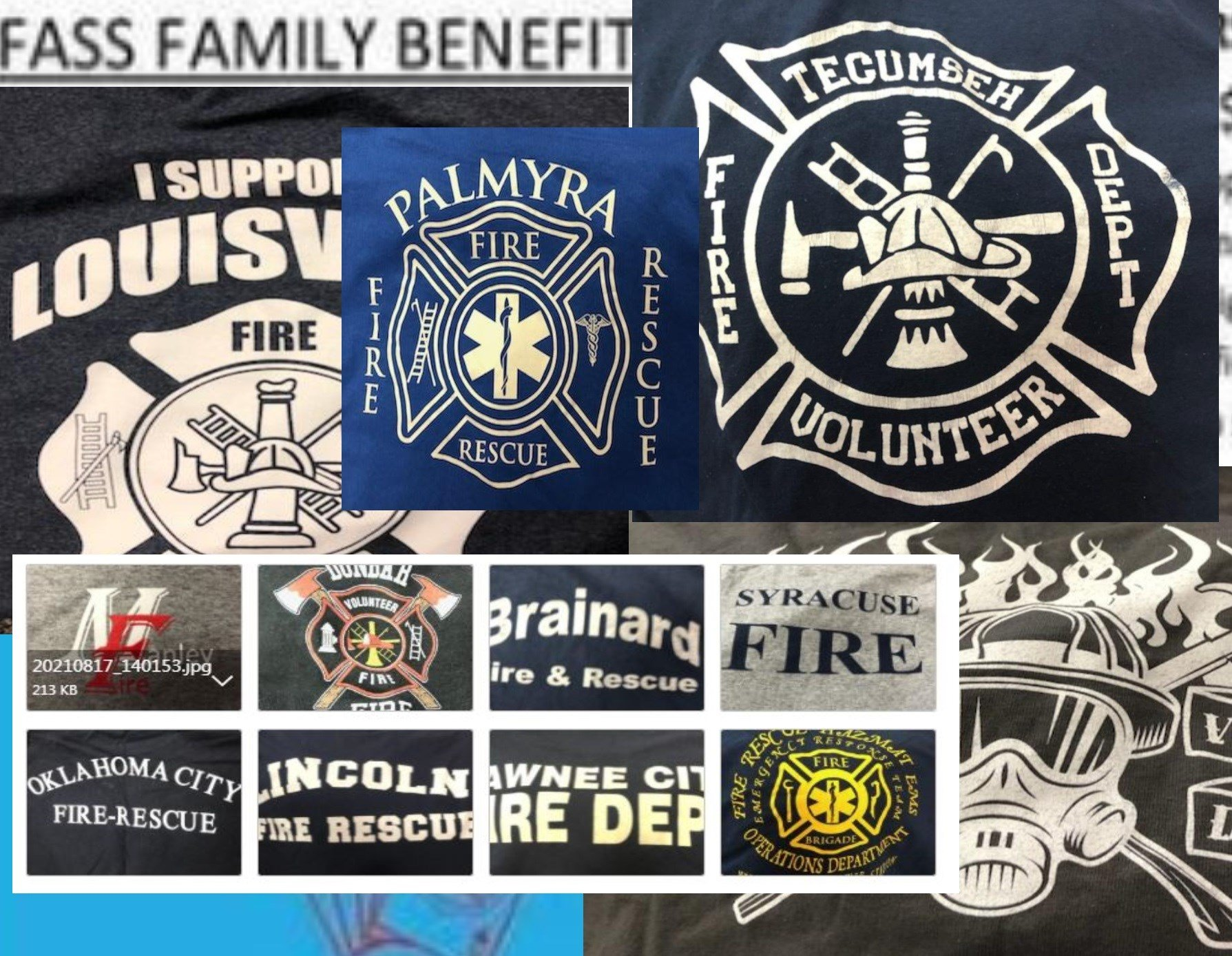 Fire departments around the country contribute to quilt for Eric Fass benefit