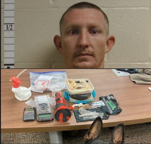 Verdon man suspected of distribution