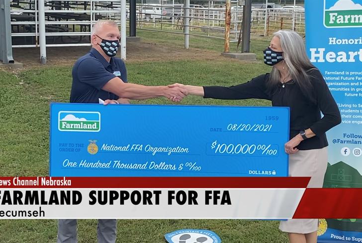Farmland donates to national FFA