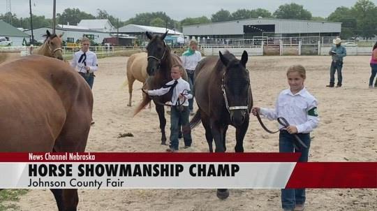Horsemanship champion prefers loping