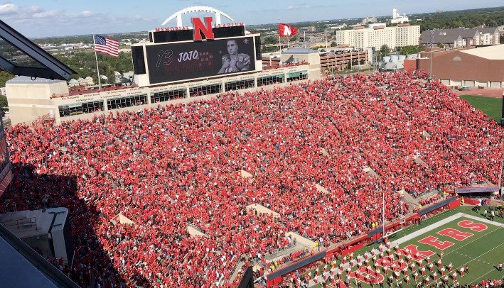 Nebraska's sellout streak continues, underserved youth invited to home opener