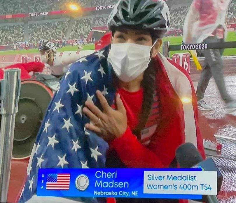 Madsen wins second medal at Paralympics