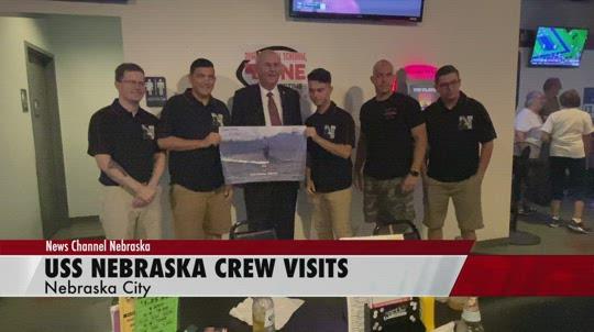 USS Nebraska crew visits Nebraska