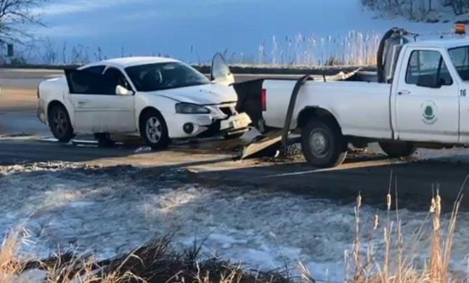 Plea entered in crash into pothole crew