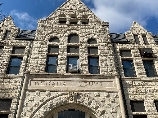 Access Restricted To Nemaha County Courthouse River Country News Channel Nebraska